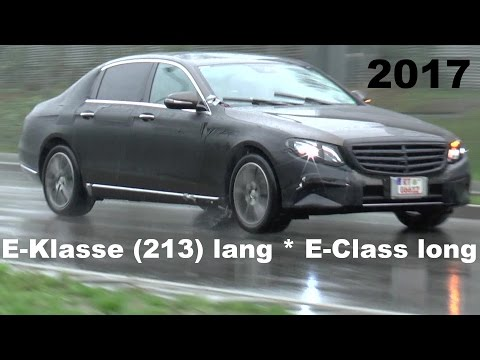 ERLKÖNIG Mercedes-Maybach ? E-Klasse lang 2017 China Indien / E-Class long less disguised V213