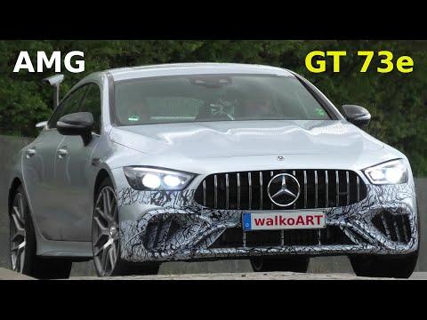 Mercedes Erlkönig * Mercedes-AMG GT 73e 4matic+ Hybrid prototype * 4K SPY VIDEO
