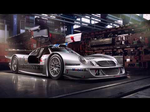 Making of   Mercedes CLK LM