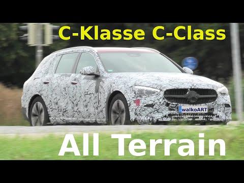 Mercedes Erlkönig C-Klasse C-Class All Terrain S206 * 4K SPY VIDEO