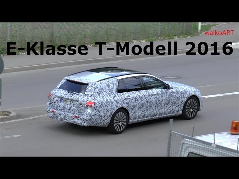 ERLKÖNIG PREMIERE Mercedes E-Klasse T-Modell S213 E-Class Estate 2017 first time on the road