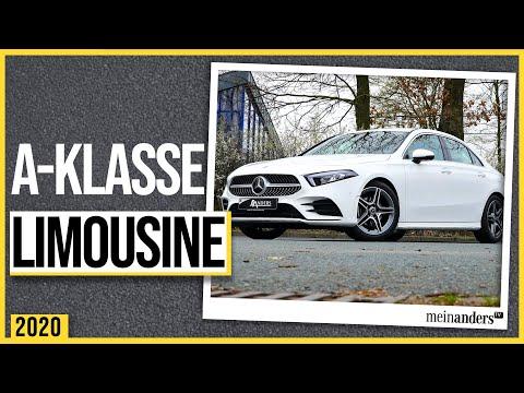 Was kann die neue Mercedes Limousine? I 2020 I 4 k // meinandersTV