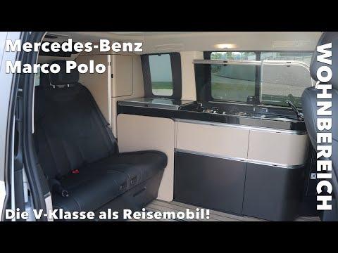 Inside: Mercedes-Benz Marco-Polo Roomtour Reisemobil Schlafen Platzangebot Dusche und etwas Kritik