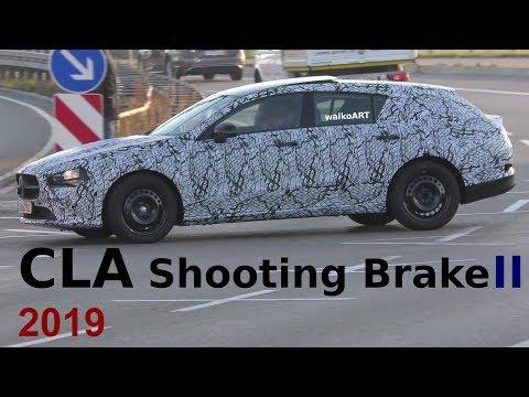 Mercedes Erlkönig Weltpremiere CLA Shooting Brake II 2019 FIRST TIME on the road 4K SPY VIDEO