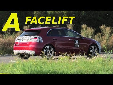 Mercedes Erlkönig Alarmstufe Rot! A-Klasse MoPf * RED ALERT! A-Class facelift prototype W177
