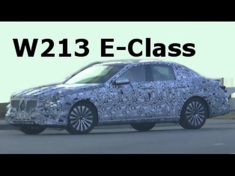 Erlkönig Mercedes-Benz E Klasse E-Class prototype 2016/2017, W213 February 2015