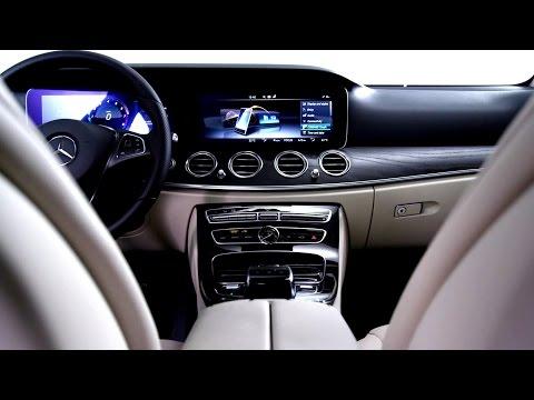 Interior Design of the 2016 E-Class – Mercedes-Benz original