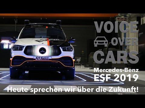 Mercedes-Benz ESF 2019 - Thema Sicherheit - Ist das die Zukunft? Voice over Cars Interviews!