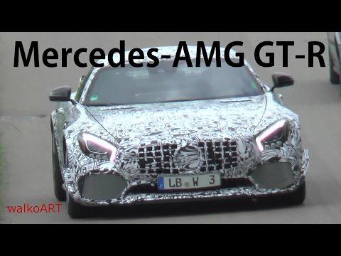 Erlkönig Mercedes-AMG GT-R 2017 in 2 Varianten - 2 different prototype versions SPY VIDEO