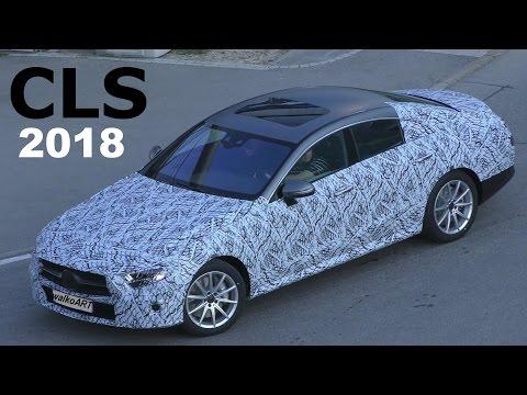 Mercedes Erlkönig CLS 2018 weniger getarnt -prototype CLS/CLE ? less camouflaged! 4K SPY VIDEO