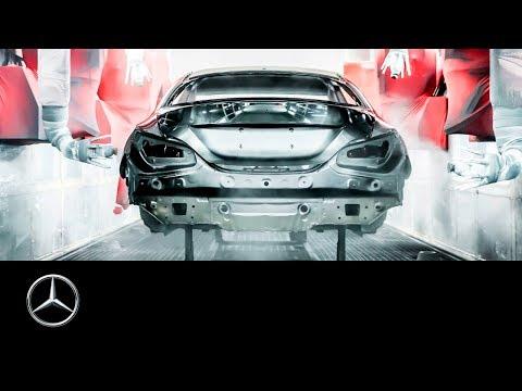 """Mercedes-Benz Autoproduktion: """"Factory 56"""" Weltpremiere   60 Sekunden"""