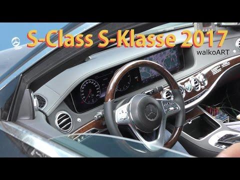 Mercedes Erlkönig S-Class Facelift INTERIOR in 4K S-Klasse Mopf INNEN W222 2017 prototype SPY VIDEO