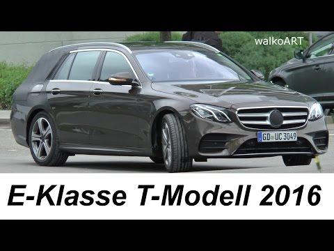 Mercedes Erlkönig - E Klasse T- Modell 2016 S213 / E-Class wagon 2017 prototype