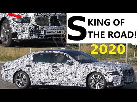 Mercedes Erlkönig S-Class King of the road 2020 - S-Klasse W223 der König der Straße 4K SPY VIDEO