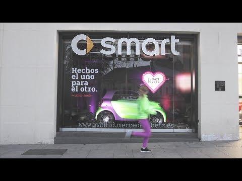 """""""CHAMELEON"""" smart tailor made MERCEDES-BENZ ESPAÑA, CONTRAPUNTO BBDO 2017"""