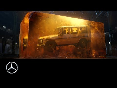 Mercedes-Benz G-Class 2018: Stronger Than Time | The Amber Cube