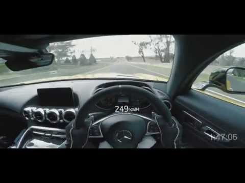 Bernd Schneider at Mount Panorama in the new Mercedes-AMG GT S
