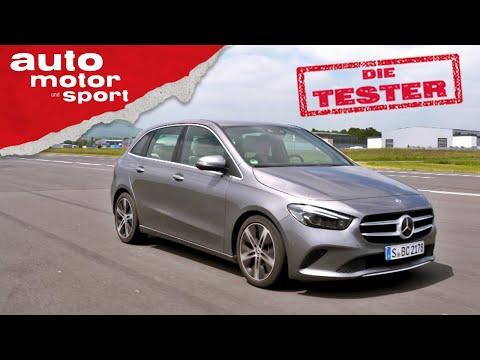 Mercedes B200d: Altherren-Auto oder praktischer Allrounder? – Test/Review   auto motor und sport