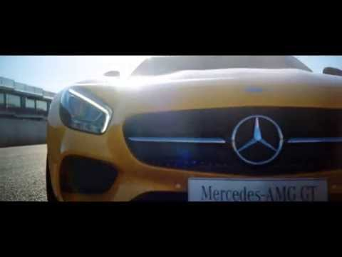 AMG GT: Too fast for its own commercial