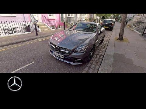 360° video drive in the SLC around London – Mercedes-Benz original