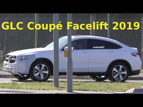 Mercedes Erlkönig GLC Coupé C253 Facelift prototype - Modellpflege 2019 4K SPY VIDEO