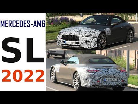 Mercedes Erlkönig AMG SL 2022 * Mercedes-AMG SL prototype * 4K SPY VIDEO