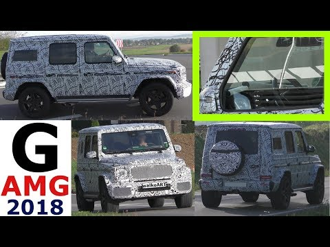 Mercedes Erlkönig neues vom AMG G63 Facelift 2018 AMG G-Class G-Klasse prototype NEWS - 4K SPY VIDEO