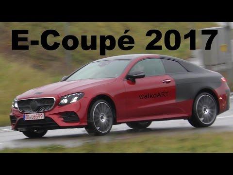 Mercedes Erlkönig E-Klasse Coupé C238 2017 RED ALERT! E-Coupe less camouflaged SPY VIDEO
