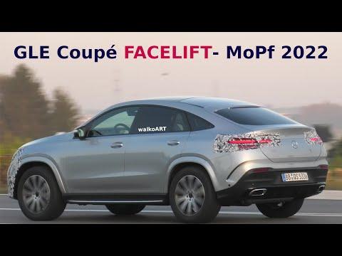 Mercedes Erlkönig GLE Coupé 2022 Facelift C167 prototype * MoPf * 4K SPY VIDEO