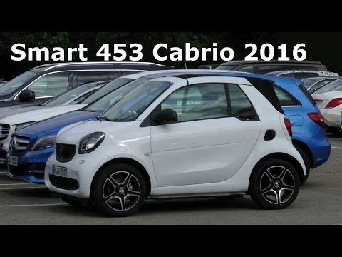 Erlkönig ungetarnt Smart fortwo A 453 Cabriolet 2016 Smart Cabrio prototype uncamouflaged Spy video
