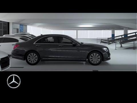 Mercedes-Benz S-Klasse 2017: Remote Park-Assistent – Ausparken bei engen Parklücken