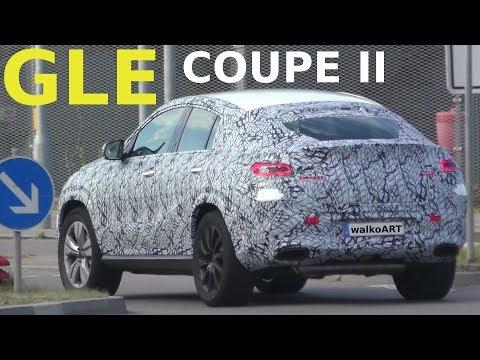 Mercedes Erlkönig Weltpremiere - World premiere GLE Coupé II prototype (2019-2020) 4K SPY VIDEO
