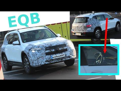Mercedes Erlkönig EQB prototype close up * Nahaufnahme! 4K SPY VIDEO