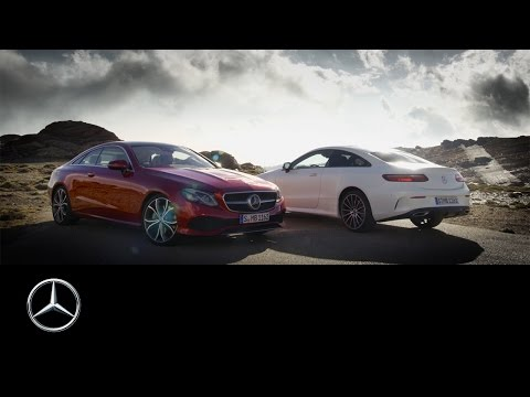 The new Mercedes-Benz E-Class Coupé | Trailer