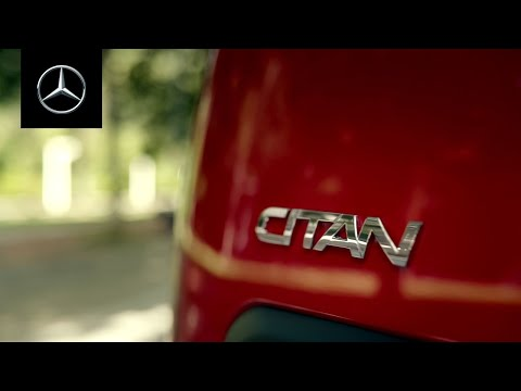 What feels giant? The all-new Mercedes-Benz Citan.