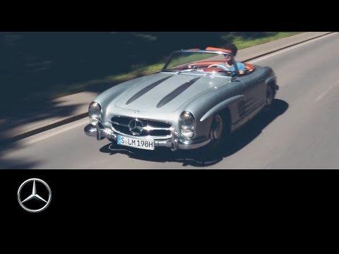 Mercedes-Benz 300 SL: A Tour Across the Swabian Alb