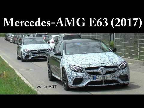 Erlkönige Mercedes-AMG E63 W213 (2017) SPEZIAL - SPECIAL SPY VIDEO