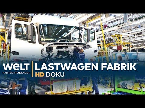 DOKU: Die größte LKW-Fabrik der Welt - Mercedes-Benz-Lastwagen