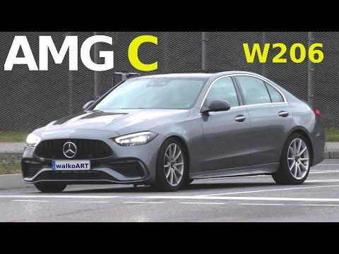 Mercedes Erlkönig AMG C-Klasse C-Class W206 prototype ? Mercedes-AMG C43? C45?