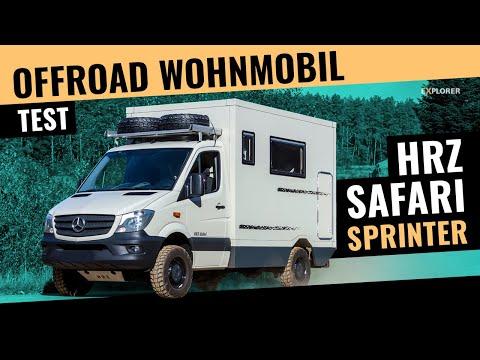 MB Sprinter 4x4 Wohnmobil der 3,5-Tonnen-Klasse – Kann das gut gehen❓