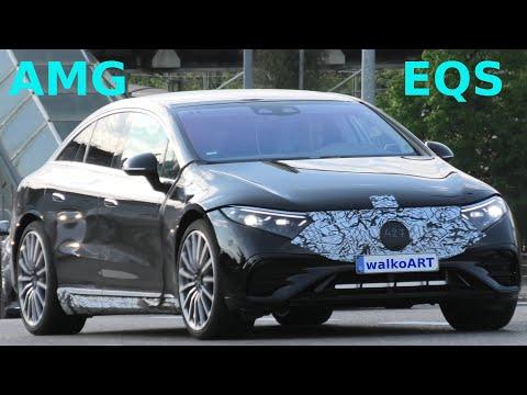 Mercedes Erlkönig * AMG EQS prototype V297 * 4K SPY VIDEO