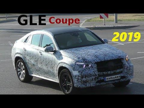 Mercedes Erlkönig GLE Coupé 2019 auf der Straße GLE Coupe 2020 on the road 4K SPY VIDEO