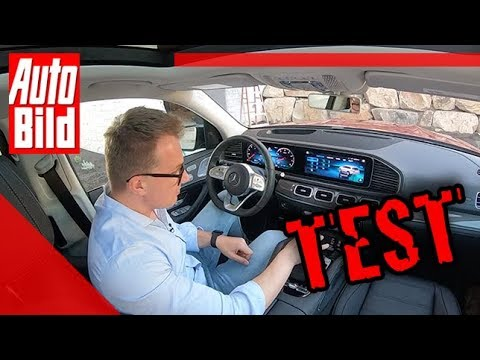 Mercedes-Benz GLS Waschstraßen-Assistent (2019): SUV - Test - Technik