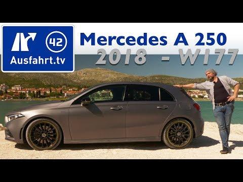 2018 Mercedes-Benz A 250 AMG-Line Edition1 (W177) - Kaufberatung, Test, Review