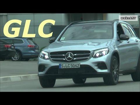 Der neue Mercedes GLC (X253) bald Verkaufsstart : NEW Mercedes-Benz GLC on the road
