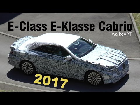 Mercedes Erlkönig E-Klasse E-Class Cabrio Testfahrt - A238 spotted on test drive SPY VIDEO