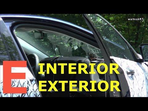 First time INTERIOR Mercedes Erlkönig E-Klasse E-Class 2016 innen außen W213 Spy video