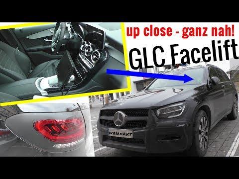 Mercedes Erlkönig GLC X253 Facelift NEUJAHR! 1.Erlkönig 2019 first prototype - Interior Exterior