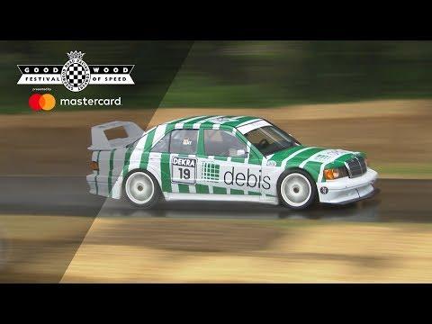 Roaring Mercedes-Benz 190E DTM conquers FOS