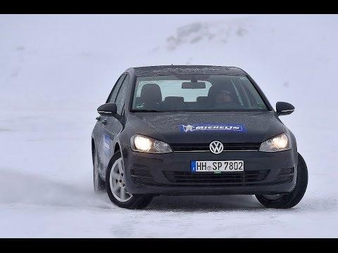 Sicher durch den Winter – mit Armin Schwarz und Michelin: Untersteuern